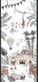 3) Behang Cirque du fantasy - 130x300