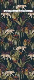 Behang - Wandgrote afbeelding - MONKEY BUSINESS DARK
