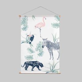 Textielposter - CHIQ SAFARI