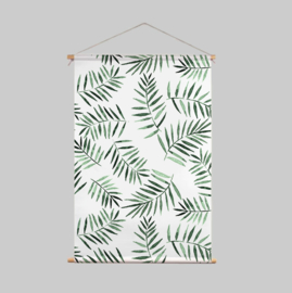 Textile Poster - PALM LEAVES