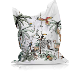Beanbag JUNGLE TONAL - suitable for indoor and outdoor use