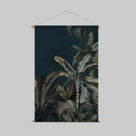 Textile Poster - DREAMY JUNGLE DARK