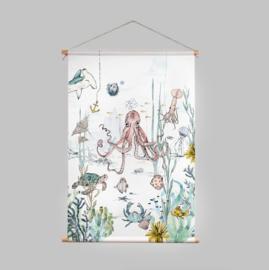 Textile Poster - UNDERWATER WONDERS
