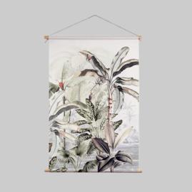 Textile Poster - DREAMY JUNGLE SOFT