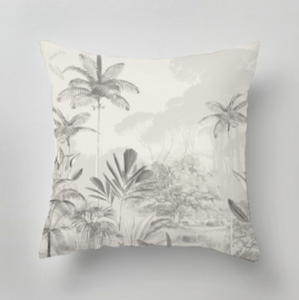 Kussen - TROPICAL WILDERNESS beige