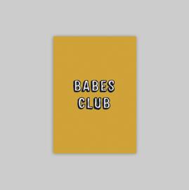 Postcard - BABES CLUB