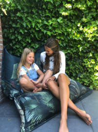 Beanbag DREAMY JUNGLE DARK - suitable for indoor and outdoor use
