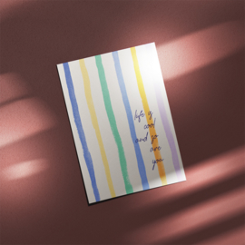Postcard - STRIPES