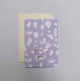 Greeting card - BLOSSOM