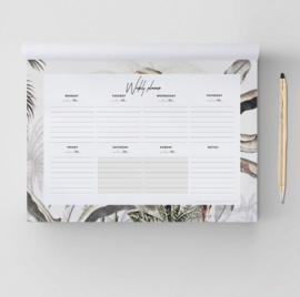Weekplanner - DREAMY JUNGLE SOFT