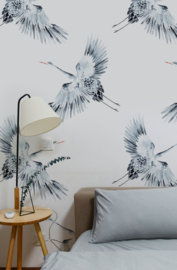Bird Wallpaper - CRANES