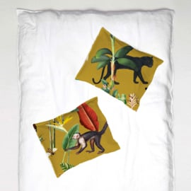 Pillowcase - KINGDOM ANIMALIA gold ochre - 1 cover