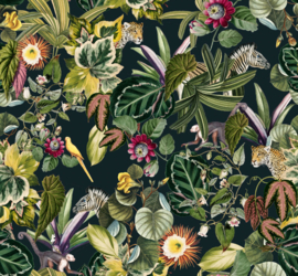 Jungle Behang - BOLD BOTANICS dark