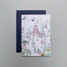 Greeting card - UNDERWATER WONDERS