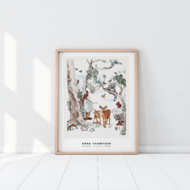 Personalized Poster - Magical Forest