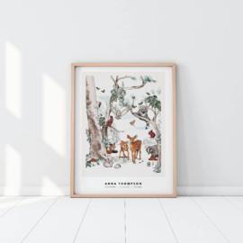 Gepersonaliseerde Poster - Magical Forest