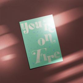 Postcard - FIRE