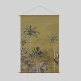 Textile Poster - Tropical Wilderness Ochre