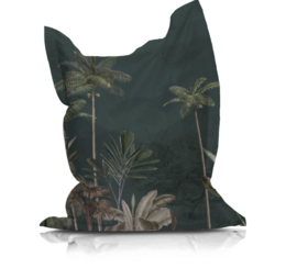 Beanbag TROPICAL WILDERNESS dark - suitable for indoor and outdoor use