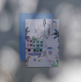 Greeting card - MIAMI BEACH