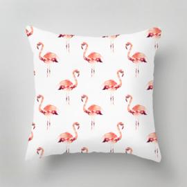 Outdoor Pillow - FLAMINGO