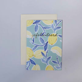Greeting card - CITRUS