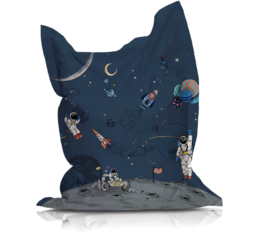 Beanbag INTO THE GALAXY dark - suitable for indoor and outdoor use