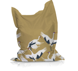 Beanbag STORK GOLD - suitable for indoor and outdoor use