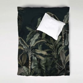Duvet Cover Set DREAMY JUNGLE dark  - single