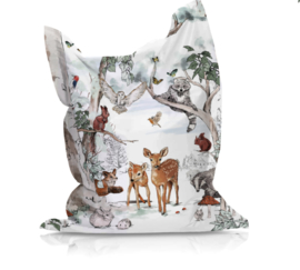 Beanbag MAGICAL FOREST - suitable for indoor and outdoor use