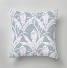 Pillow - ART DECO FOLIAGE blue