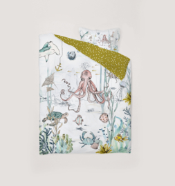 Toddler Bedding Set - UNDERWATER WORLD 100x135cm