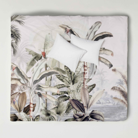 Duvet Cover Set  DREAMY JUNGLE soft- double