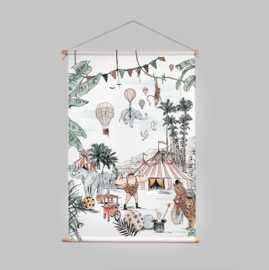 Textielposter - CIRQUE DU FANTASY