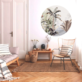 Round wall stickers Dreamy Jungle Soft