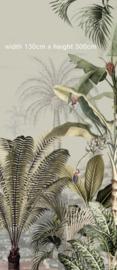 Jungle Wallpaper - Full wall sized image - DREAMY JUNGLE GREEN