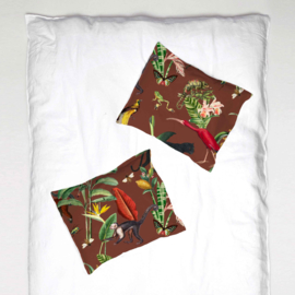 Pillowcase - KINGDOM ANIMALIA burnt sienna - 1 cover