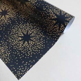 Giftwrap - Golden stars