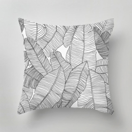 Pillow - BARBADOS black/white