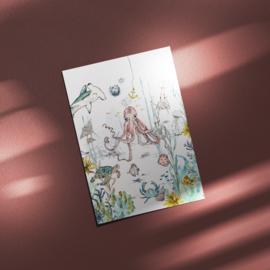 Postcard - Underwater Wonders