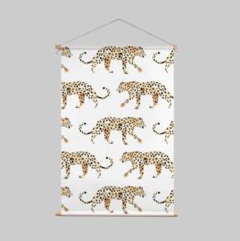 Textielposter - LEOPARD