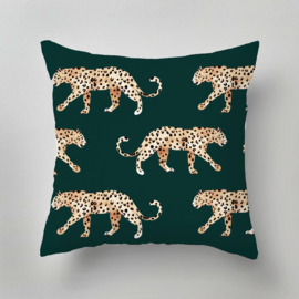 Pillow - LEOPARD GREEN