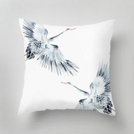 Outdoor Pillow - CRANES