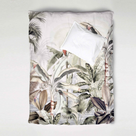 Duvet Cover Set DREAMY JUNGLE soft - single