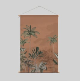 Textile Poster - Tropical Wilderness Ginger