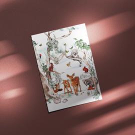 Ansichtkaart - Magical Forest
