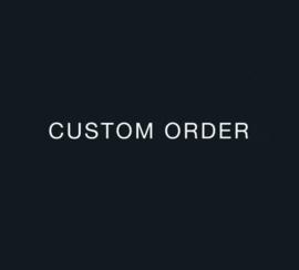 Custom order for Amie P.