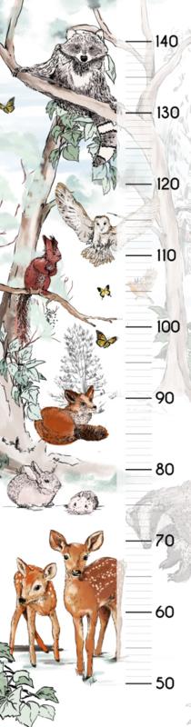 Groei sticker Magical Forest