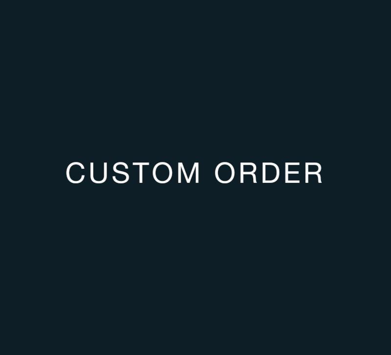 Custom Order for John Klijn