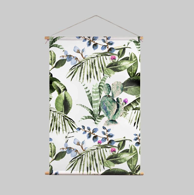 Textile Poster - CACTUS